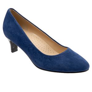 Fab Navy Suede